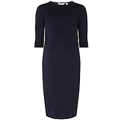 Dorothy Perkins - **maternity navy bodycon dress