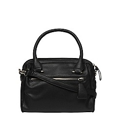 Dorothy Perkins - Black mini slouch bowler bag