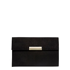 Dorothy Perkins - Black colour tab clutch