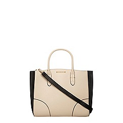 Dorothy Perkins - Bone oversized tote bag