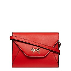 Dorothy Perkins - Red bow crossbody bag