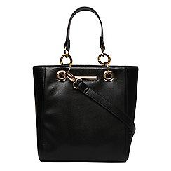 Dorothy Perkins - Black mini tort handle tote bag