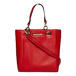 Dorothy Perkins - Red mini tort handle tote bag
