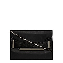 Dorothy Perkins - Black belted clutch
