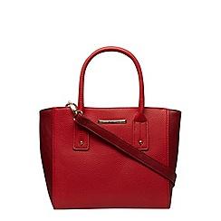 Dorothy Perkins - Red mix curve mini tote bag