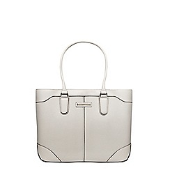 Dorothy Perkins - Grey seam detail tote bag