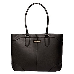 Dorothy Perkins - Black seam detail tote bag