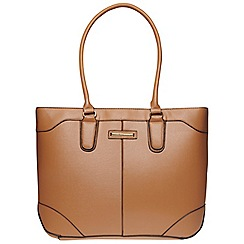 Dorothy Perkins - Tan seam detail tote bag