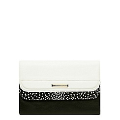 Dorothy Perkins - Dalmation panel clutch