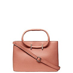 Dorothy Perkins - Rose pink mini loop tote bag