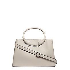 Dorothy Perkins - Grey mini loop handle tote bag