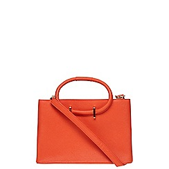 Dorothy Perkins - Orange mini loop tote bag