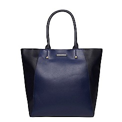 Dorothy Perkins - Navy mix shopper