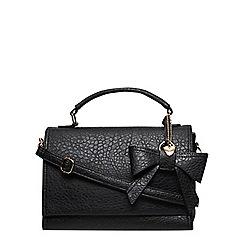 Dorothy Perkins - Black bow charm satchel
