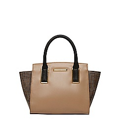 Dorothy Perkins - Grid wing tote bag