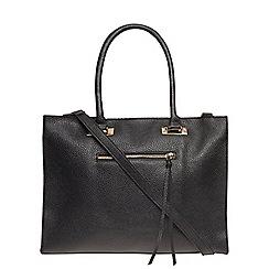 Dorothy Perkins - Black soft square tote bag