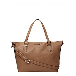 Dorothy Perkins - Tan slouch side bowler