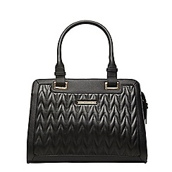Dorothy Perkins - Black quilted tote bag