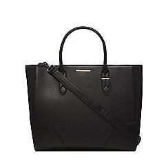Dorothy Perkins - Black oversized curve tote bag