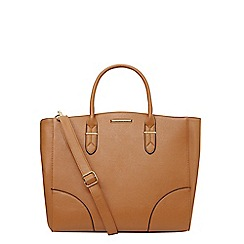 Dorothy Perkins - Tan oversized tote bag