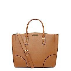Dorothy Perkins - Tan oversized tote bag