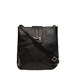 Dorothy Perkins - Black tab crossbody bag