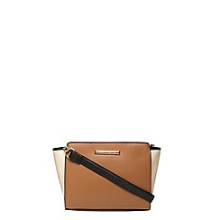 Dorothy Perkins - Tan mix wing crossbody bag