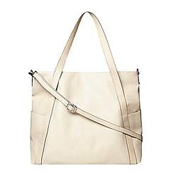 Dorothy Perkins - Stone slouch tote bag