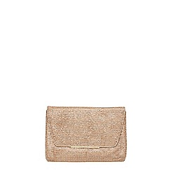 Dorothy Perkins - Showcase gold chainmail clutch