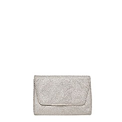Dorothy Perkins - Showcase silver chainmail bag