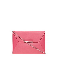 Dorothy Perkins - Pink envelope clutch bag