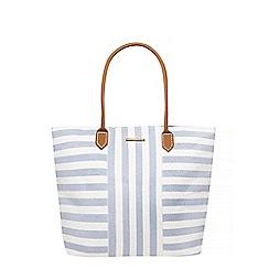 Dorothy Perkins - Blue stripe beach tote bag