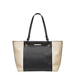 Dorothy Perkins - Black and bone stripe tote bag