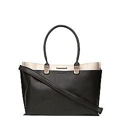 Dorothy Perkins - Black 5 compartment tote bag
