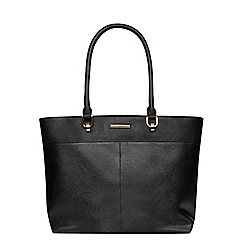 Dorothy Perkins - Black pocket landscape tote