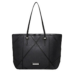 Dorothy Perkins - Black diamond tote bag