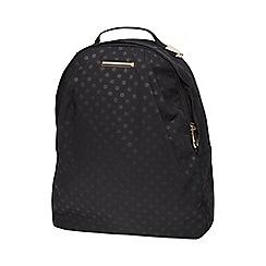 Dorothy Perkins - Black spot nylon backpack
