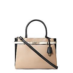 Dorothy Perkins - Mink belted tote bag