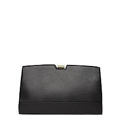 Dorothy Perkins - Black metal frame clutch bag