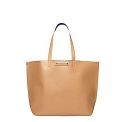 Dorothy Perkins - Tan purse shopper bag