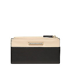 Dorothy Perkins - Black and blush zip purse