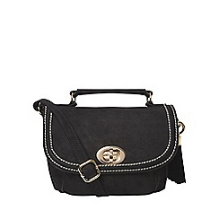 Dorothy Perkins - Black tassel front satchel