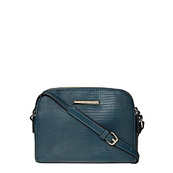 Dorothy Perkins - Teal compartment bag