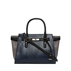 Dorothy Perkins - Navy belted wing tote bag