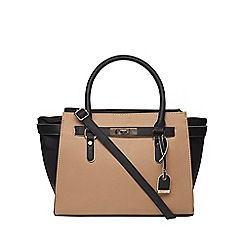 Dorothy Perkins - Toffee belted wing tote bag