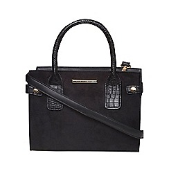Dorothy Perkins - Black mini tab tote