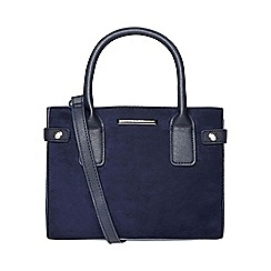 Dorothy Perkins - Navy mini tab tote bag