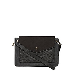 Dorothy Perkins - Black boxy crossbody bag