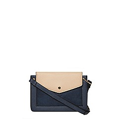 Dorothy Perkins - Navy mix boxy crossbody bag