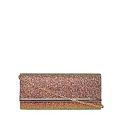 Dorothy Perkins - Glitter structured clutch